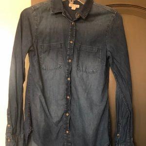 Merona Jean long sleeve shirt